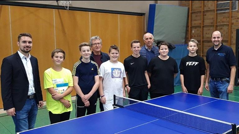 Trainingskonzept Kinder- und Jugendarbeit mit Lizenztrainer Tischtennis