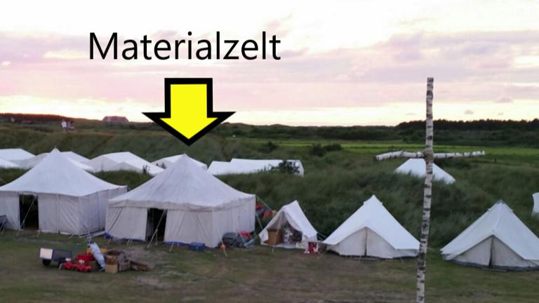 Projekt MAT - Zelt --> aus alt wird neu!