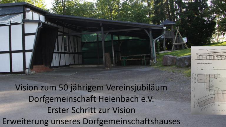 Erweiterung unseres Dorfgemeinschaftshauses