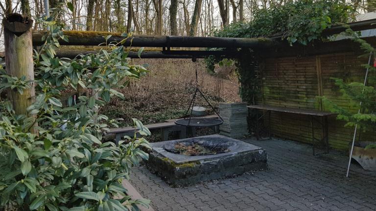Sanierung des Grillplatzes im Vereinsheim