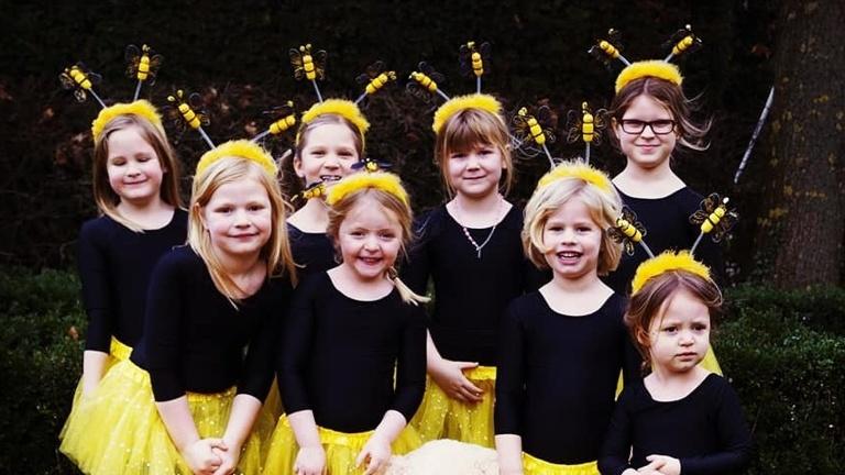 Gardekostüme für die KG Fantastic Kindertanzgarde Sendenhorst