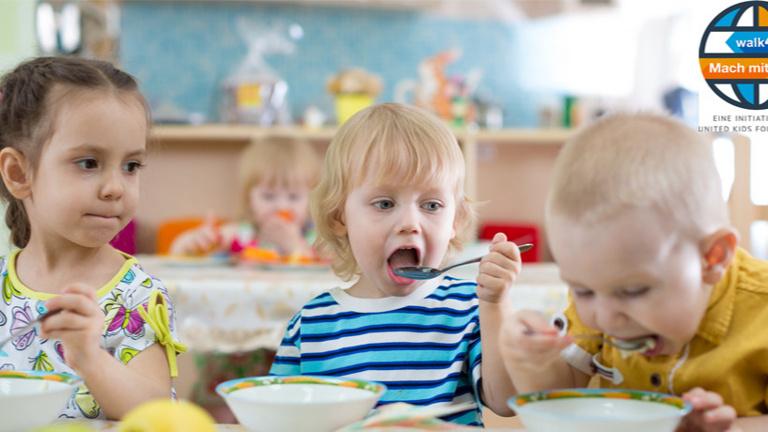Starthilfe – Gesunde Ernährung in Kitas
