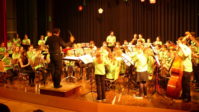 Jugendkapelle Kirchheim Orchesterreise Rambouillet