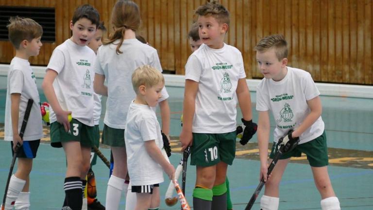 Kindertrikots U8 Hockeyclub Grün-Weiß Tus Mayen