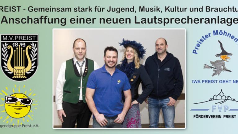 PREIST - Gemeinsam stark für Jugend, Musik, Kultur