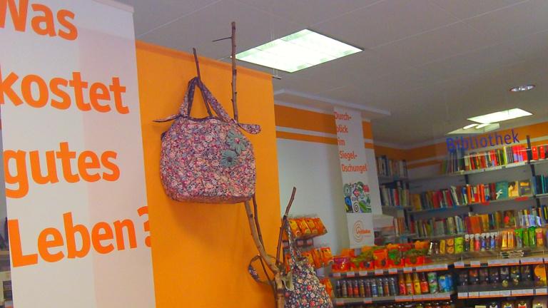 Ladenumbau: Ein neues Gesicht für den Weltladen Unterwegs Mainz