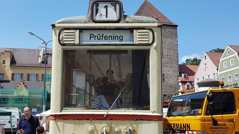 Restaurierung der Regensburger Straßenbahn