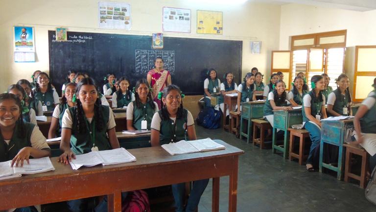 Indien: Stipendien für Mädchen