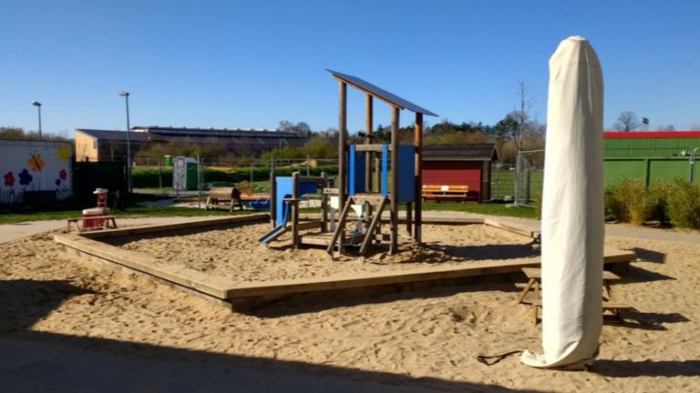 Wasserspielplatz für die Kita Im Holzkamp