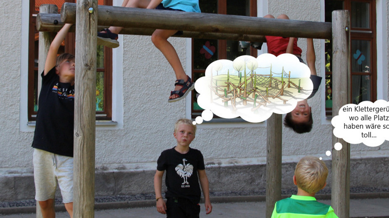 Klettergerüst Grundschule Warngau
