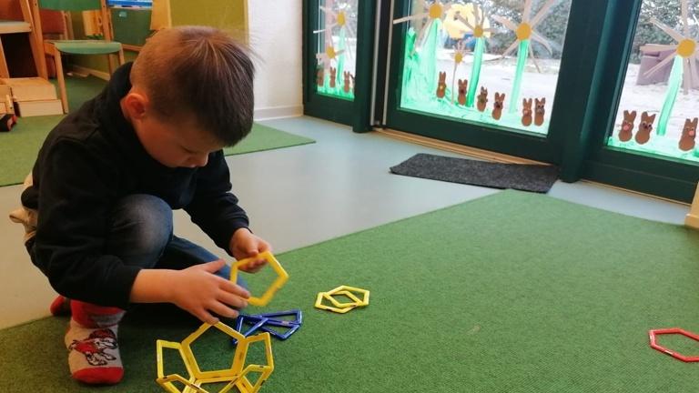Neues Konstruktionsspielzeug für die EKI Kinder