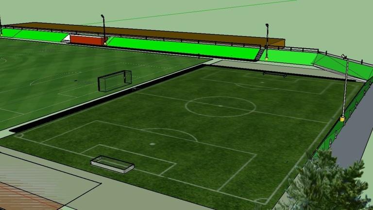 Kunstrasen Jugendspielfeld der SG-HW e.V.