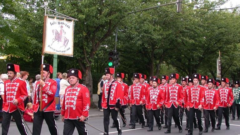 Neue Standarte für die Roten Husaren Morken Harff