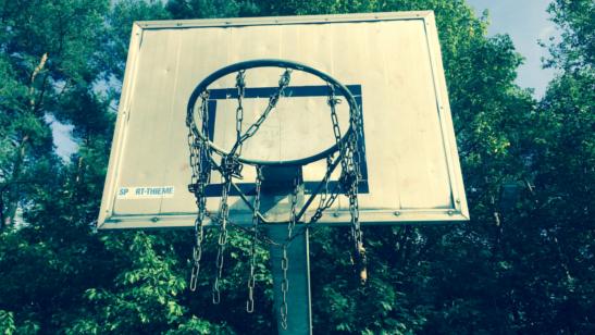 Erneuerung der Basketballanlage auf dem Vereinsgelände